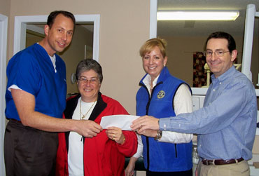 Rotary Supports Fayette Care Clinic The Citizen Online