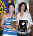 Rotarians honored