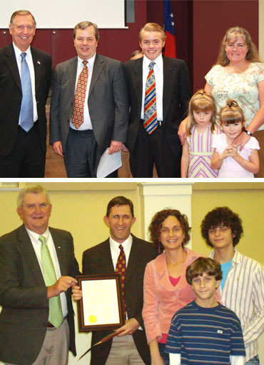 Mayors declare November 'City Family Month'