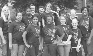 Band Members Attend Summer Camp for Girls