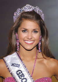 On Friday, July 31, Fletcher faced off against the other Miss Teen USA ...