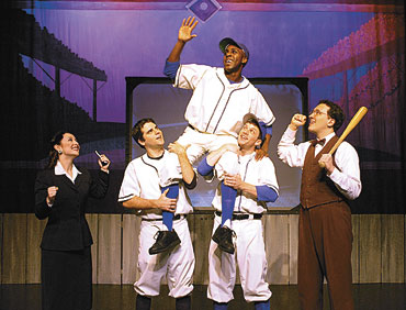 Legacy Theatre presents tale of Jackie Robinson, 'Most Valuable Player'